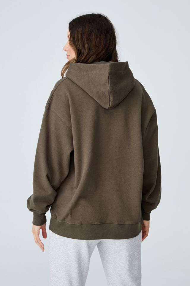 Classic Hoodie, DUSTY OLIVE