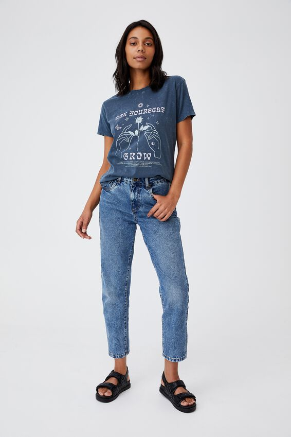 Classic Arts T Shirt, LET YOURSELF GROW/MOONLIGHT