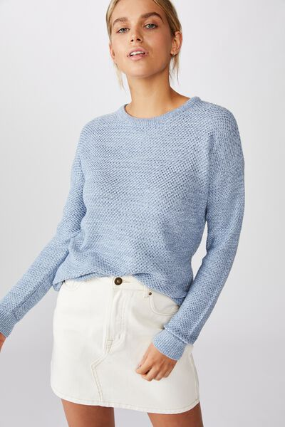 Archy Pullover, CELESTIAL BLUE COUNTRY BLUE TWIST
