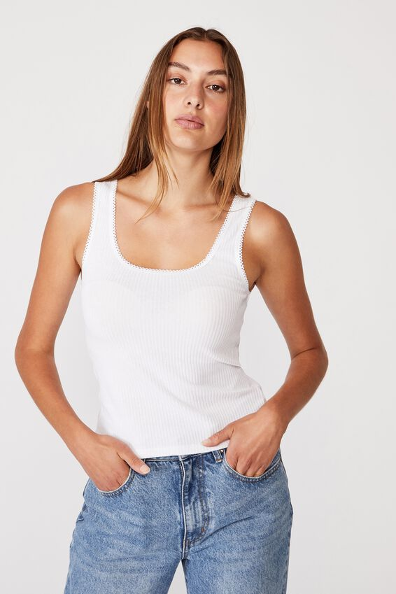The Riley Tank, WHITE