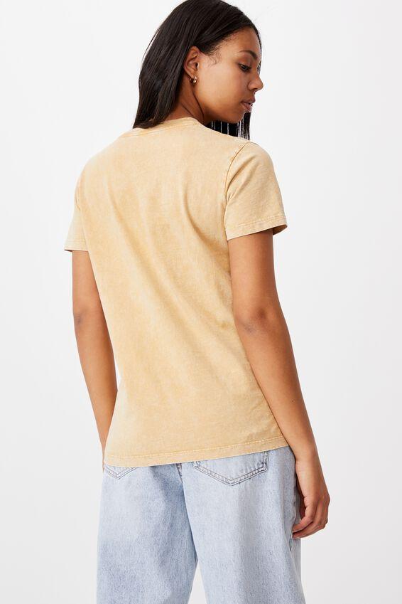 Classic Christmas License T Shirt, LCN DIS MICKEY REINDEER/ALMOND