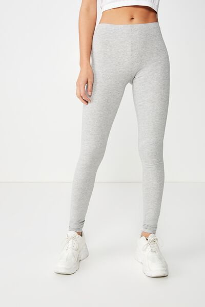 Dylan Long Leggings, GREY MARLE