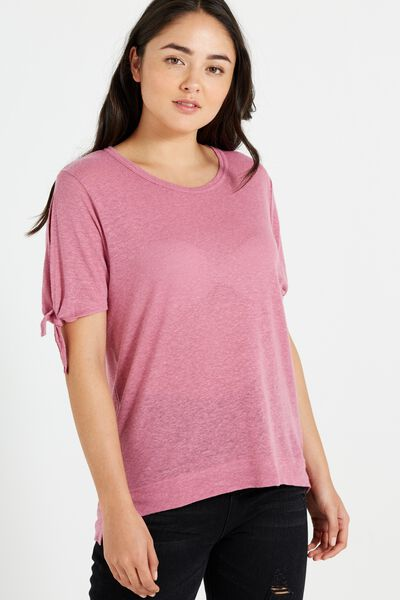 Wendy Cut Out Shoulder Top, JAZBERRY