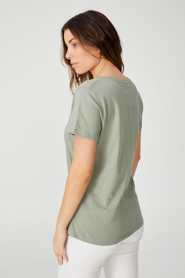 The One V Tee, SAGE