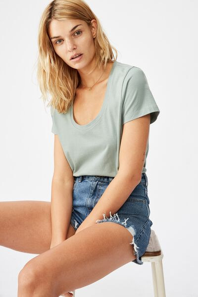 The One Scoop Tee, CHINOIS GREEN