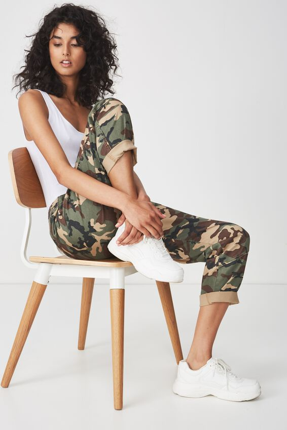 Rolled Hem Chino, COMMANDO CAMO