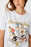 The Original Graphic Tee, LCN WB LOONEY TUNES GROUP/SILVER MARLE