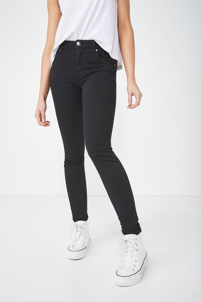 Mid Skinny Jean, EVERYDAY BLACK