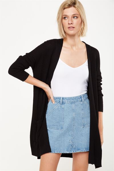 Archy Cardigan, BLACK