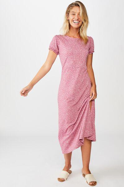 Mackayla Midi Dress, ELOISE DITSY MALAGA