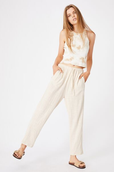 Cali Pull On Pant, SOFT SAND