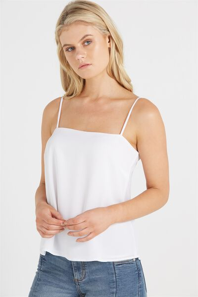 Poppy Cami, WHITE