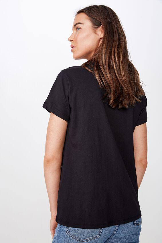Classic Tv Movie T Shirt, LCN NET STRANGER THINGS GLOW LOGO/BLACK