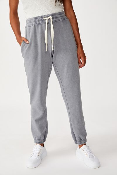 Slim Fit Trackpant, GRISAILLE PIGMENT DYE