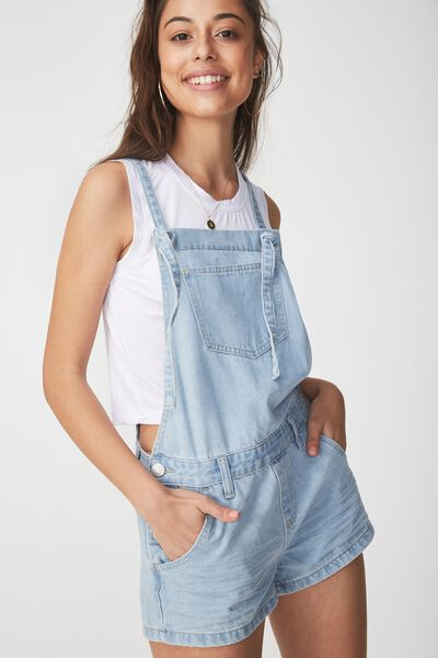 The Classic Overall, MID BLUE KNOT