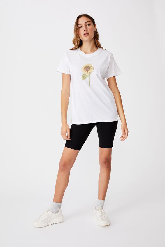 Classic Arts T Shirt, SUNFLOWER/WHITE