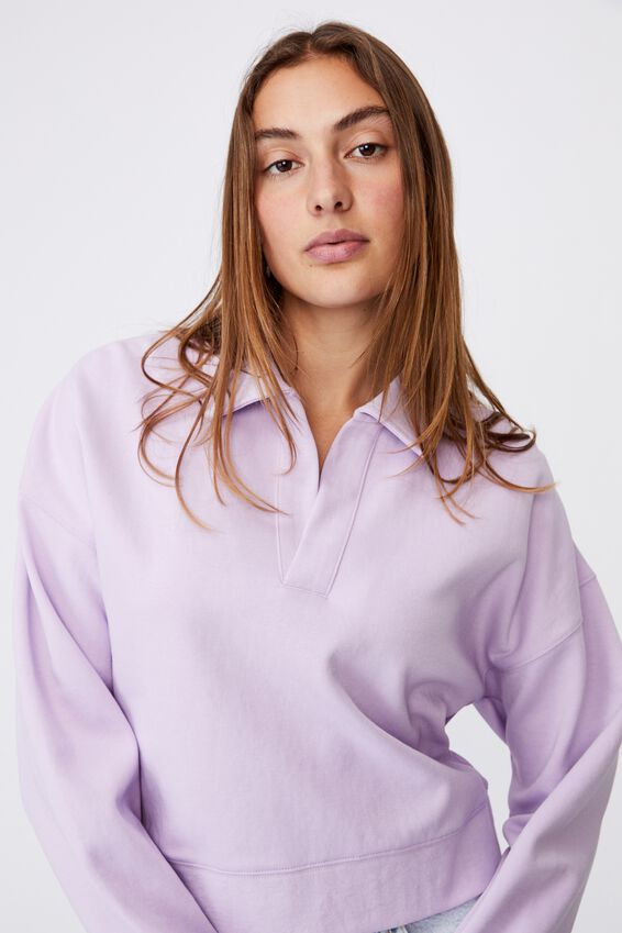 Preppy Polo, SOFT FROSTY LILAC