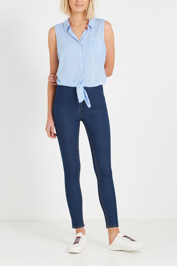 High Rise Jegging, 70'S RINSE