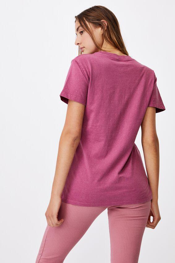 Classic Arts T Shirt, SYMBOLS/DARK GRAPE