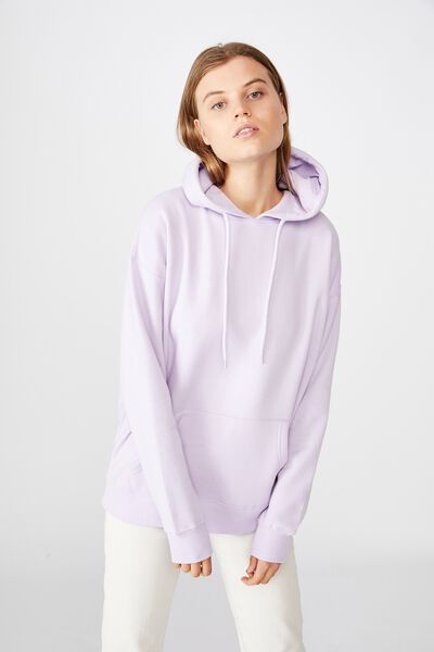 Dad Maxi Peached Hoodie, LILAC