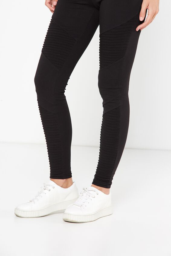 Tranquil Legging, MOTO/BLACK