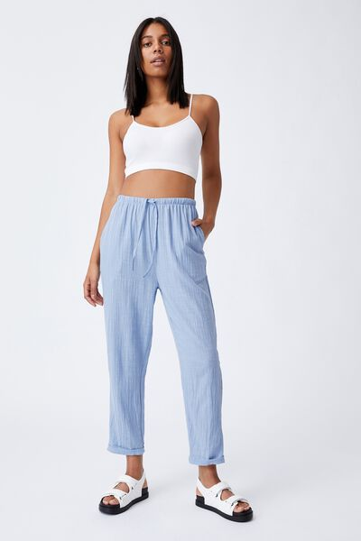 Cali Pull On Pant, AUTHENTIC BLUE