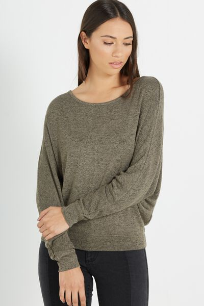Nikita Soft Touch Long Sleeve Top, SOOT/BLACK SOFT TOUCH