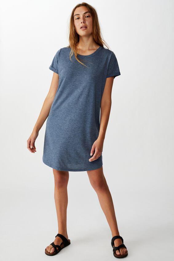 Tina Tshirt Dress 2, EBONY MARLE