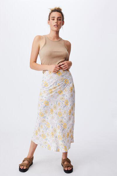 All Day Slip Skirt, DEVON FLORAL CANDY