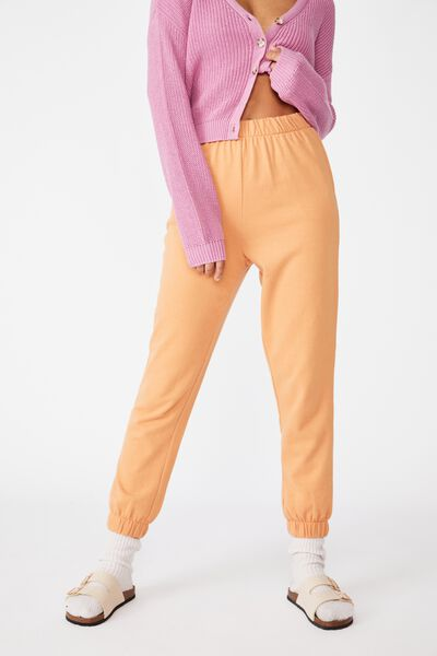High Waisted Trackpant, BUTTERUM