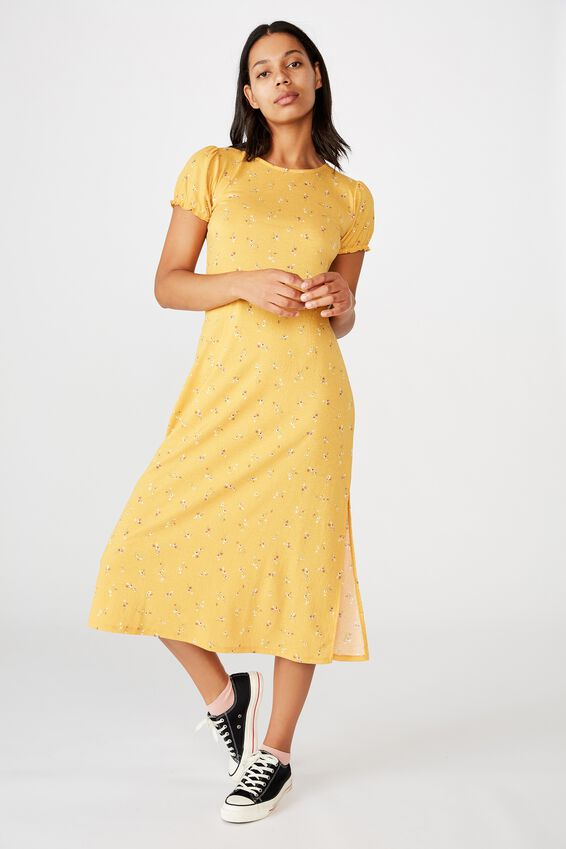 Mackayla Midi Dress, RILEY DITSY MANGO