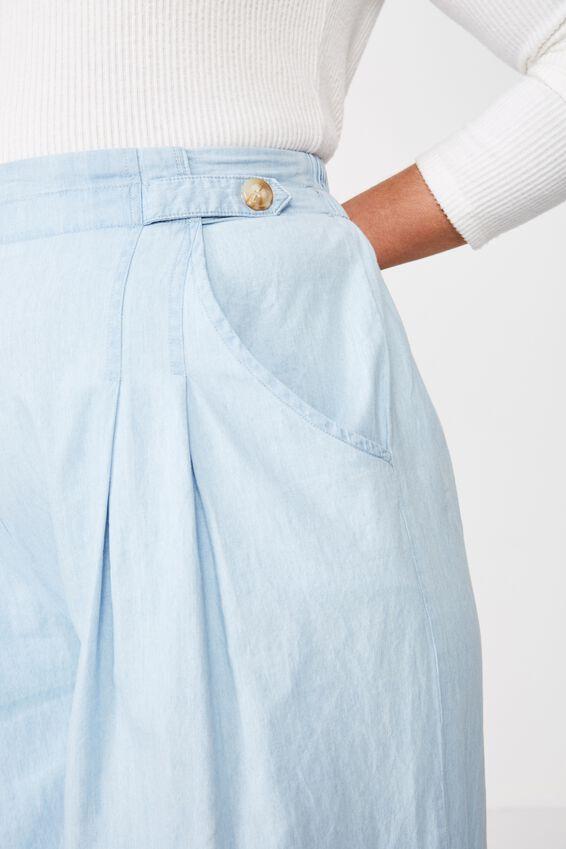 Curve Luna Button Culotte, MID BLUE