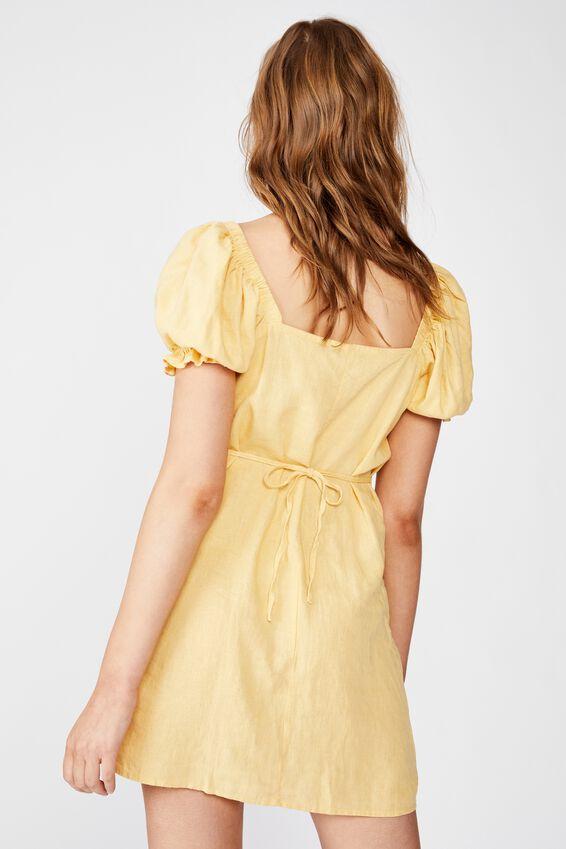 Woven Aurora Short Sleeve Mini Dress, JOJOBA