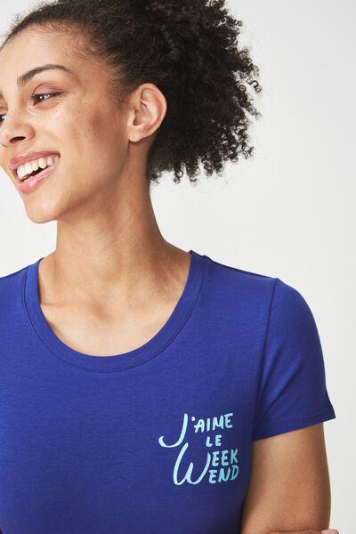 Tbar Hero Graphic T Shirt, WEEKEND/SAPPHIRE BLUE