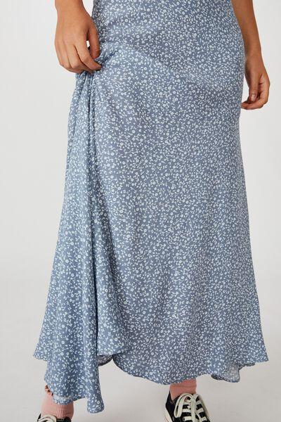 Tahli Midi Skirt, INGRID DITSY FLINTSTONE