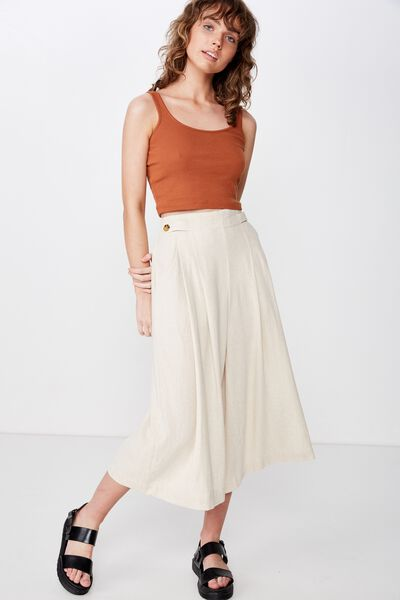 Lola Button Culotte, LATTE MARLE