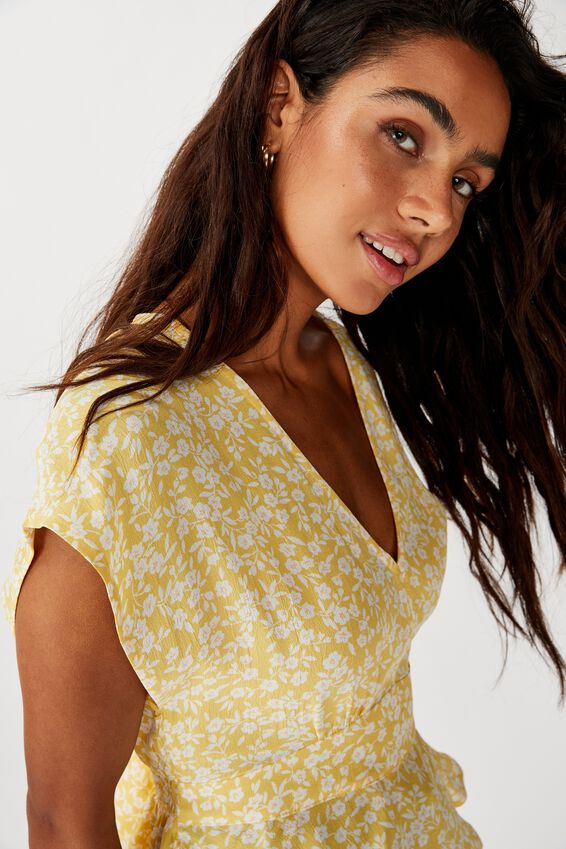The Ultimate Tea Blouse, TAYLAH DITSY SUNDRESS