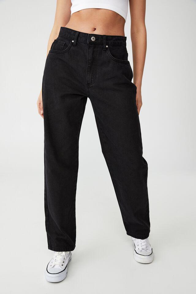 Petite Straight Jean, MIDNIGHT BLACK