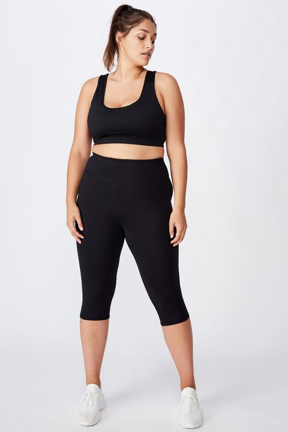 Curve Active Core Capri Tight, BLACK