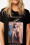 Classic Tv Movie T Shirt, LCN SO FLASHDANCE POSTER/BLACK