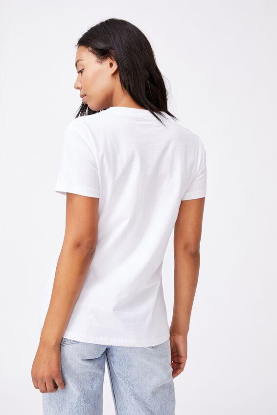 Classic Birthday Flower Graphic T Shirt, MAY BIRTHFLOWER/WHITE