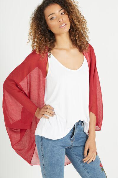 Trixy Cocoon Kimono, ROSE BUD