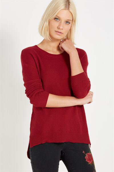 Archy 3 Pullover, ROSE BUD