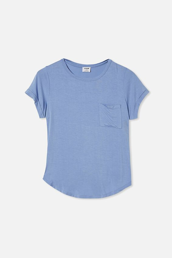 Kathleen Short Sleeve Top, LUSH GREEN