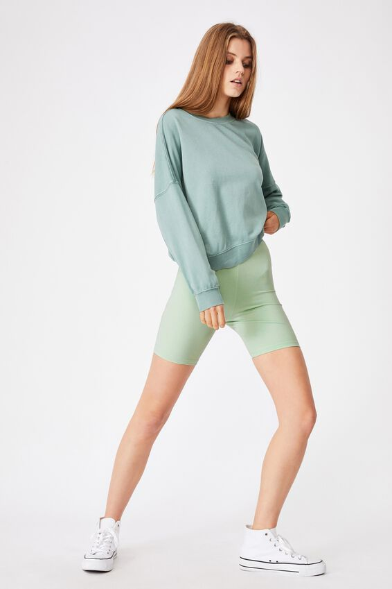 The Pip Jersey Bike Shorts, SPRING MINT