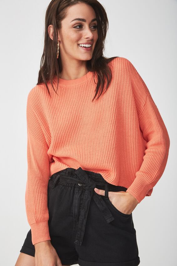 Archy Cropped Pullover, CELOSIA