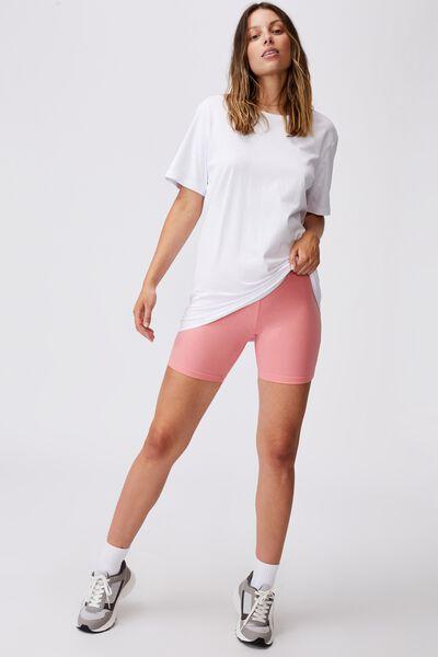 The Pip Jersey Bike Shorts, PINK GRAPEFRUIT