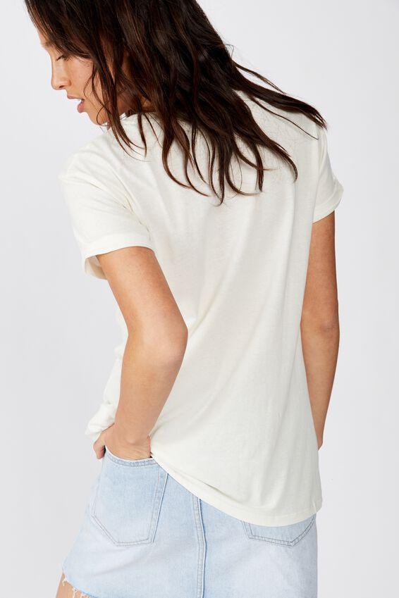 Classic Vintage T Shirt, BIKE WEEK/GARDENIA