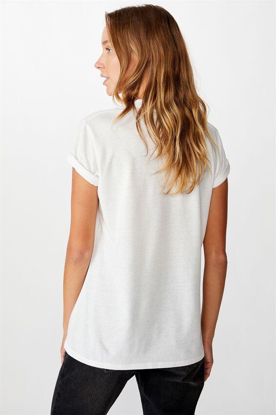 Classic Tv Movie T Shirt, LCN MIR KILL BILL POSTER/WHITE