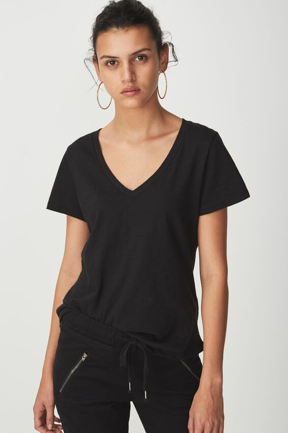 The Deep V, BLACK
